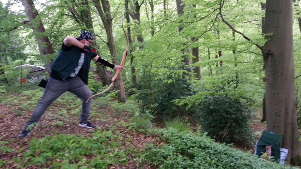 Beim 3d-Bogensport sind die Ziele keine langweiligen Scheiben, sondern dreidimensionale Tier-Atrappen.